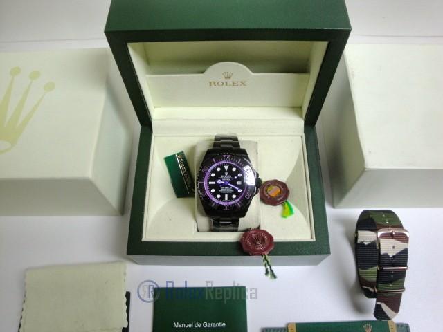 rolex replica deepsea seadweller pro-hunter pvd violet black out edition orologio replica